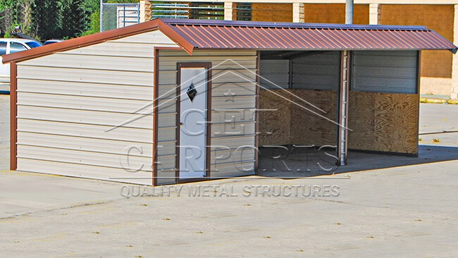 26x12x8 Loafing Shed