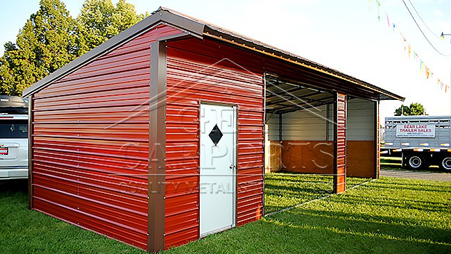 36x15x8 Loafing Shed