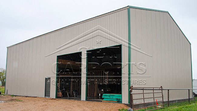 36x40x20 Aframe Vertical Roof Warehouse