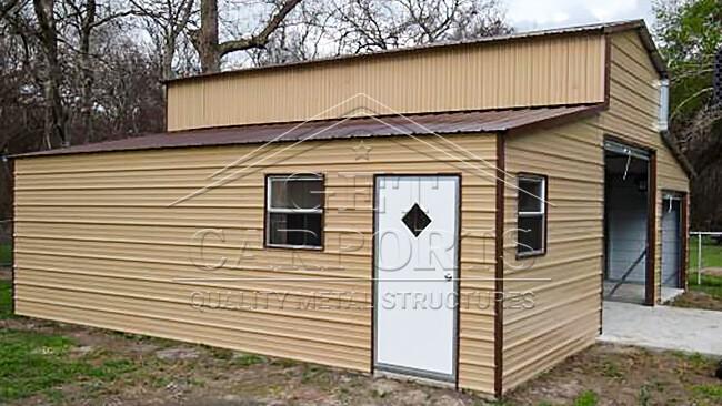 30x30x12 A-Frame Barn
