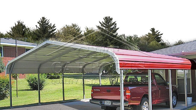 12x31x6 Regular Style Carport