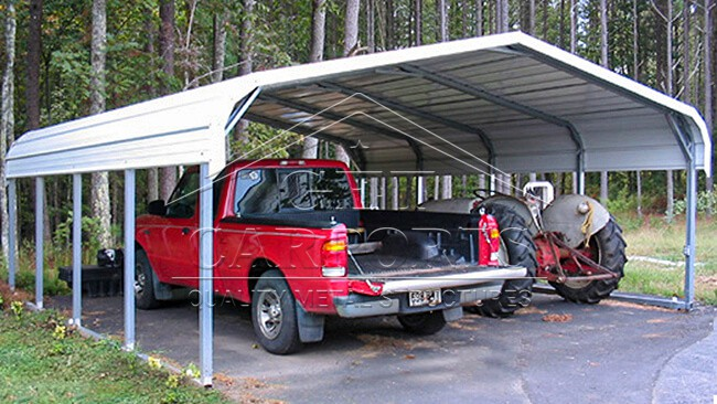 12x26x7 Regular Style Carport