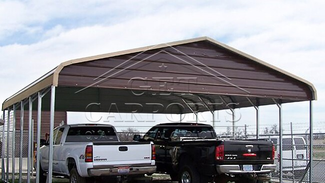 22x31x10 Regular Style Carport