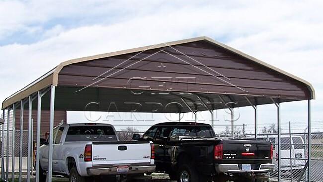22x31x10 Regular Style Carport