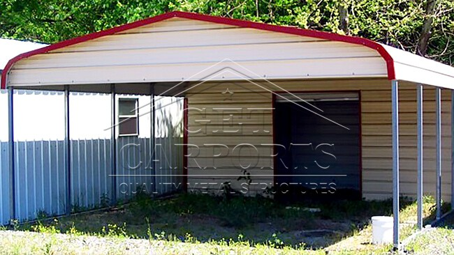 18x31x6 Regular Style Combo Carport