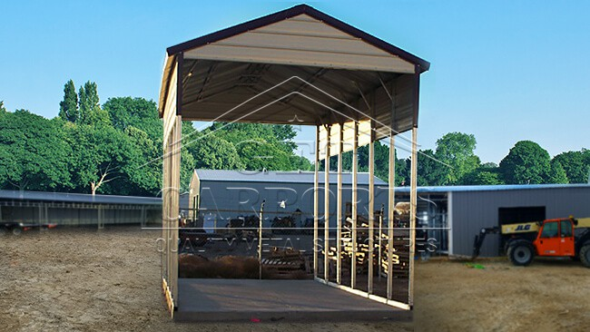 12x31x13 Aframe Horizontal Certified Carport