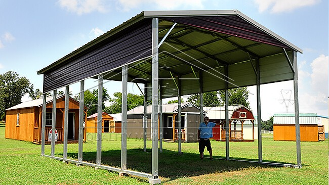 12x21x7 Regular Style Carport