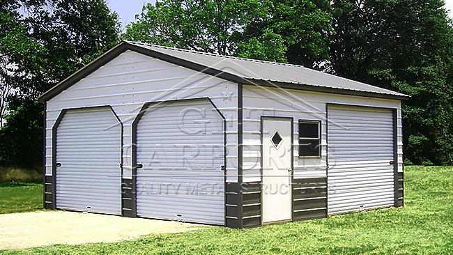 20x20x9 Aframe Garage
