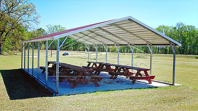 20x30x7 Aframe Carport