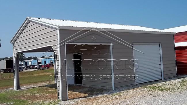 18x25x9 Aframe Utility Carport