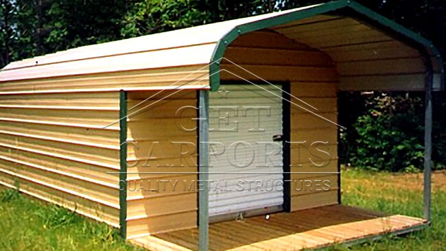12x20x6 Regular Style Storage Shed