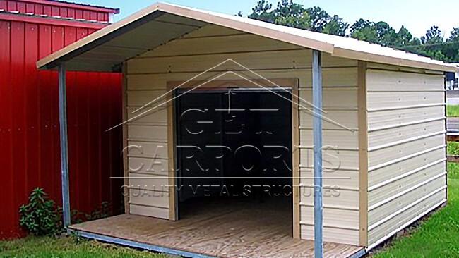 12x20x7 Aframe Style Storage Shed