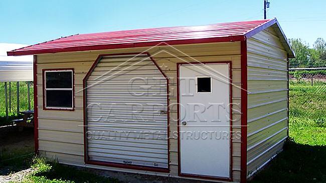 10x20x8 Aframe Style Storage Shed