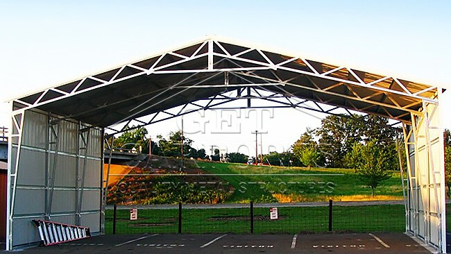 32x30x12 Aframe Vertical Roof Carport