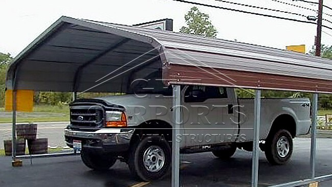 12x21x6 Regular Style Carport