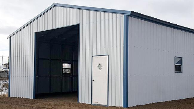 Metal RV Garage Kits