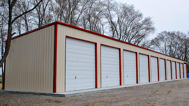 Rental Storage Building Applications