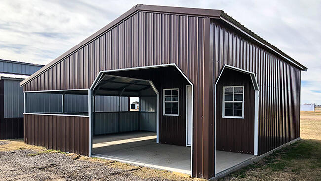 Custom Steel Building Kits