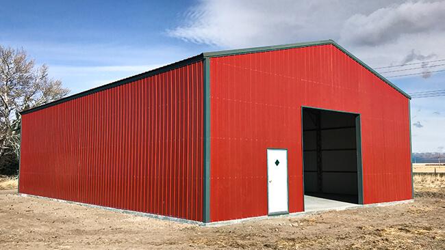 Customize Your 1 Car Metal Garage