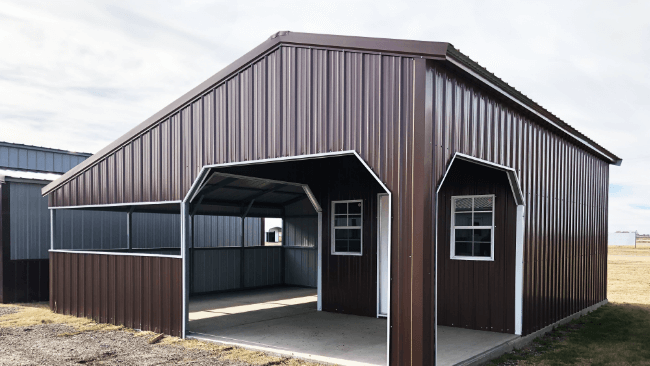 Applications for Single Car Carports with Storage